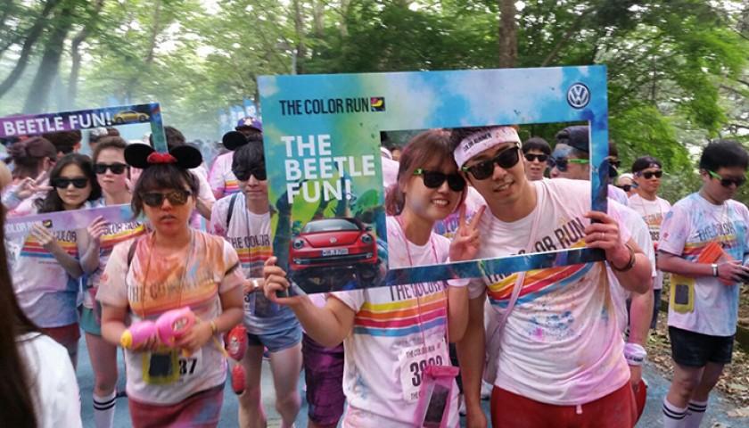 The Color Run-The Beetle Fun 2014