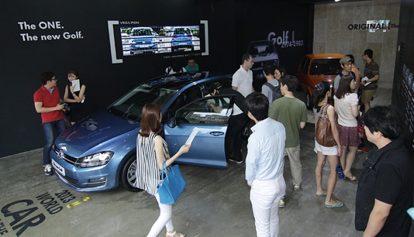 The New Golf Inspire Studio @삼청동